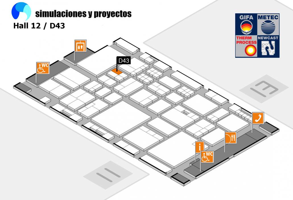 GIFA2015 Stand FLOW-3D