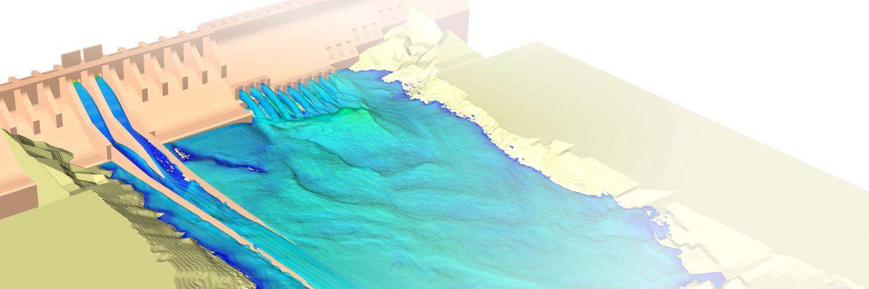 Simulacion fluidodinamica para ingenieria hidraulica y medioambiente