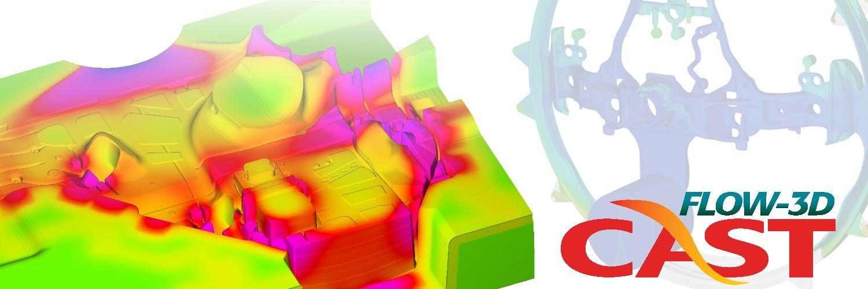 Simulacion del ciclado termico del molde en FLOW-3D