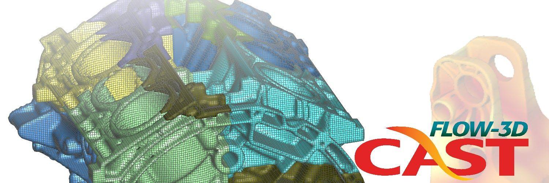 Simulacion de estres termico y deformaciones en fundicion con FLOW-3D