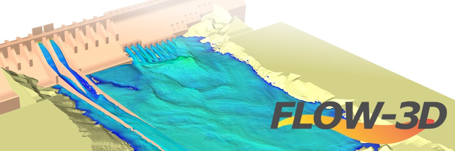 Software CFD para ingenieria civil y medioambiente hidraulica FLOW-3D