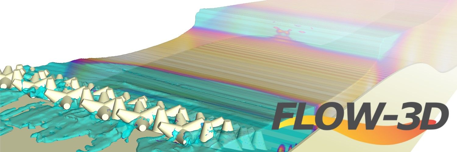 Software CFD para ingenieria maritima naval costera FLOW-3D
