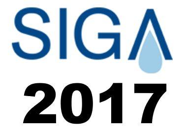 Logo SIGA 2017. Simulaciones y Proyectos estará presente en SIGA
