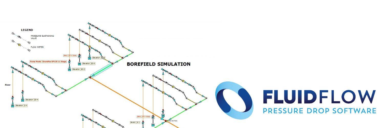 FLUIDFLOW permite simular fluidos en regimen estacionario asi como regimen transitorio